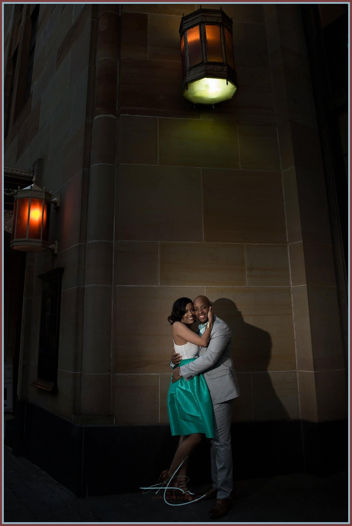 Brice and Tia's Engagement Session   Uptown Charlotte NC