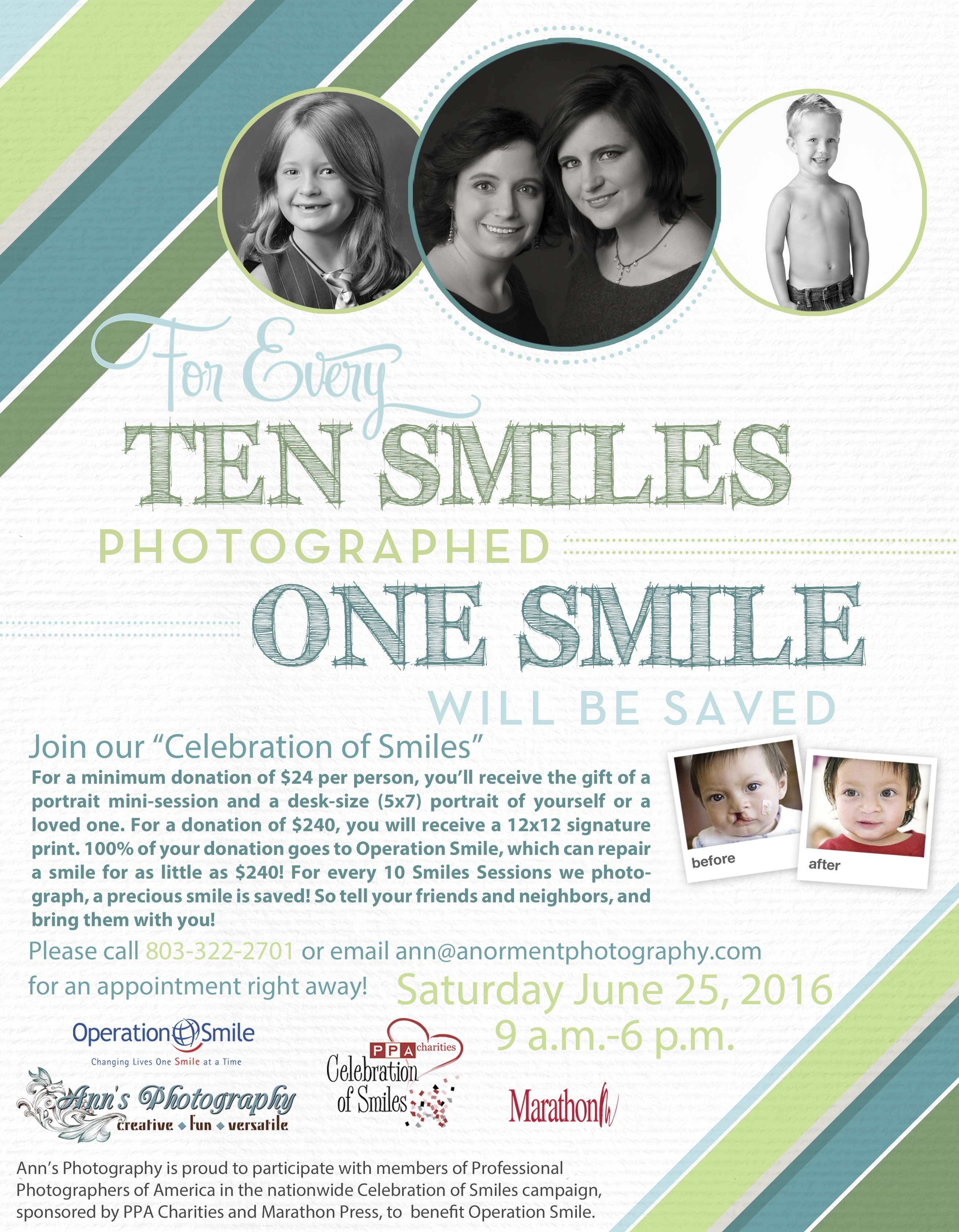 Operation Smile - Ann's Photography Charlotte NC