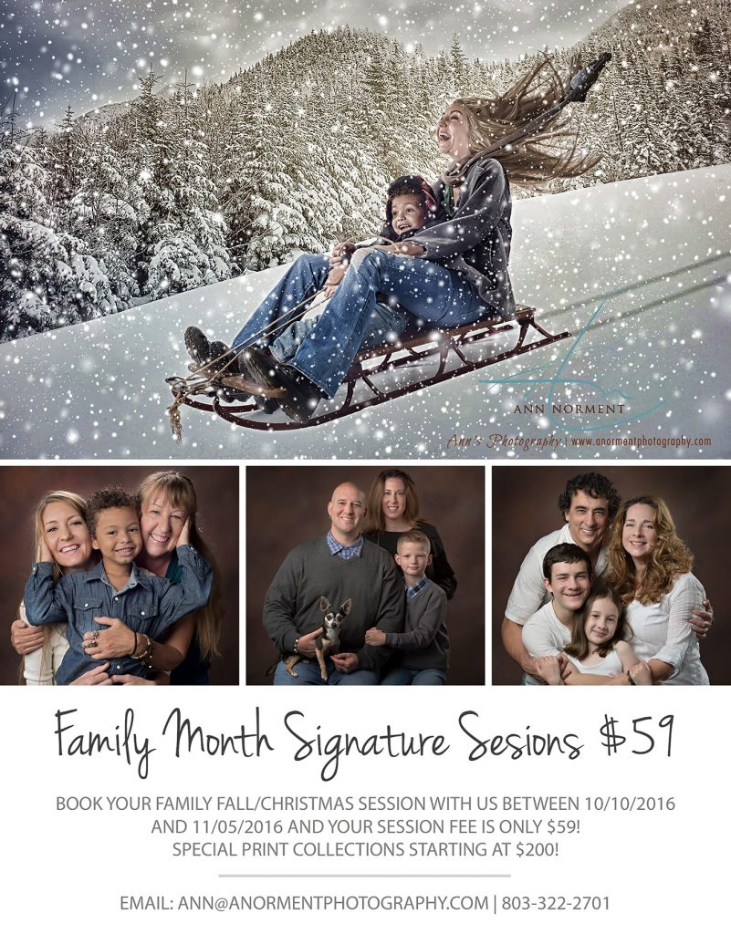 Fall Family Sessions - Christmas Cards - Ann's Photography