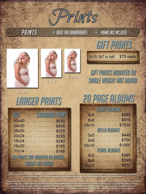Newborn Pricing Guide