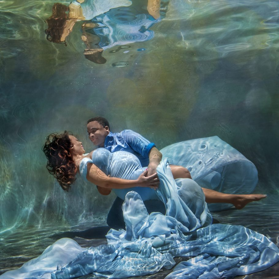 Underwater Maternity Portraits, Charlotte NC, Fort Mill SC, Waxhaw NC