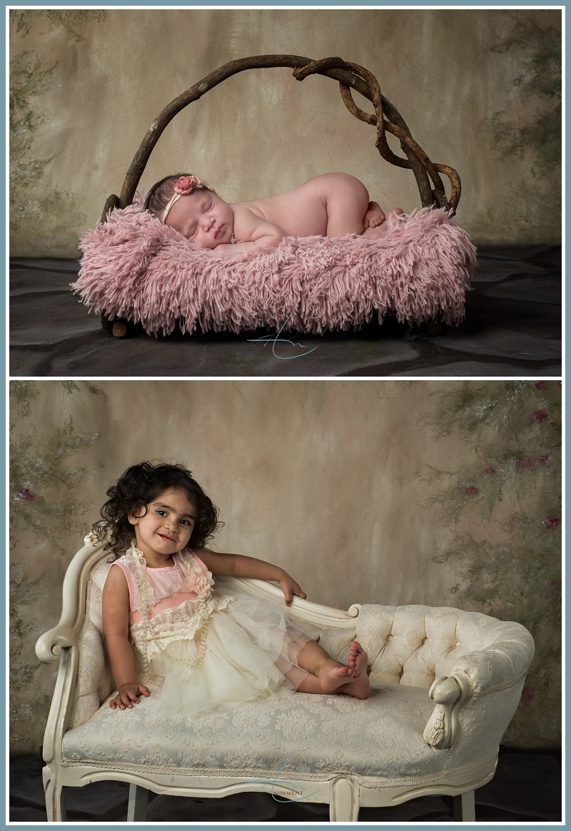 Newborn Photographer - Cameron Family - Charlotte NC