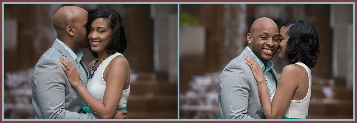 Brice and Tia's Engagement Session | Uptown Charlotte NC