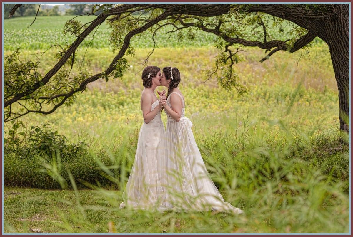 LGBT Wedding - Melissa and Laura