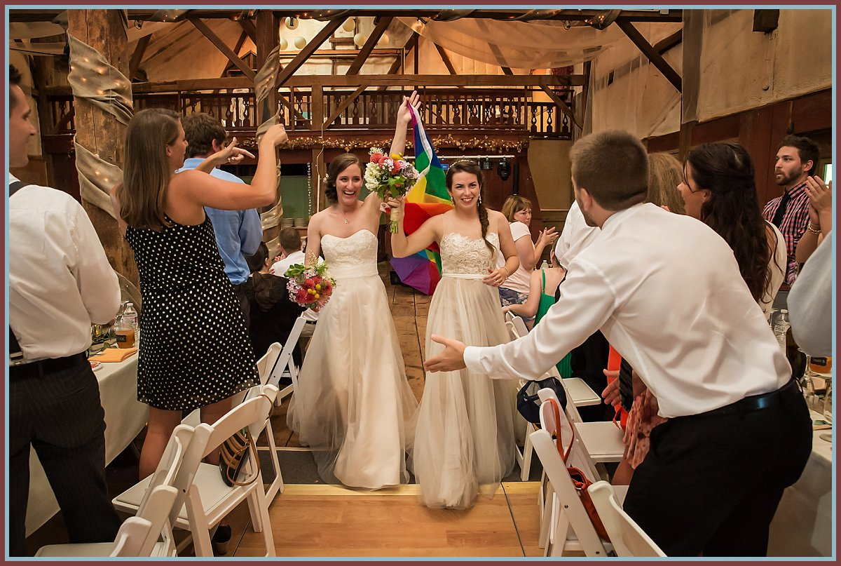 LGBT Wedding - Melissa and Laura