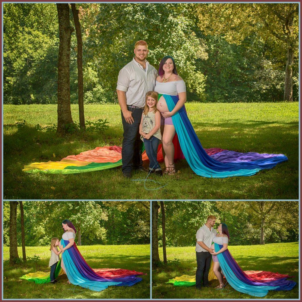 Underwater Maternity - Rainbow Baby - Charlotte Photographer
