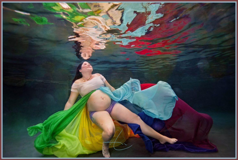 Underwater Maternity, Rainbow Baby, Charlotte nc Photographer
