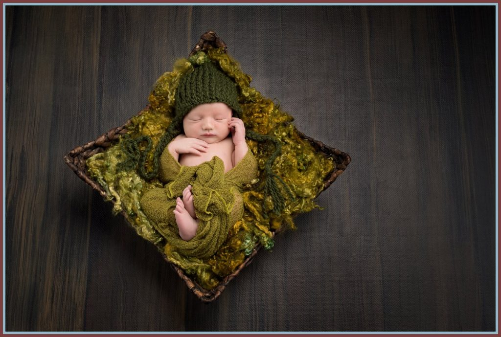Newborn Photographer - Zachary and Kathryn - Ann's Photography