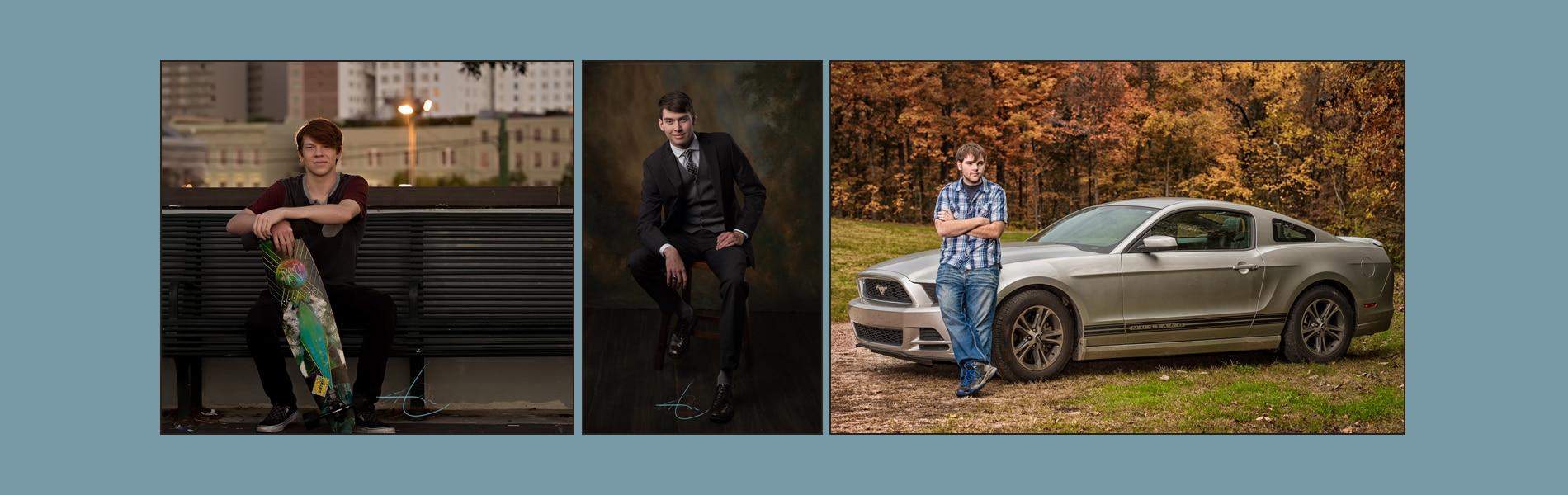 award winning senior portraits and headshots - front