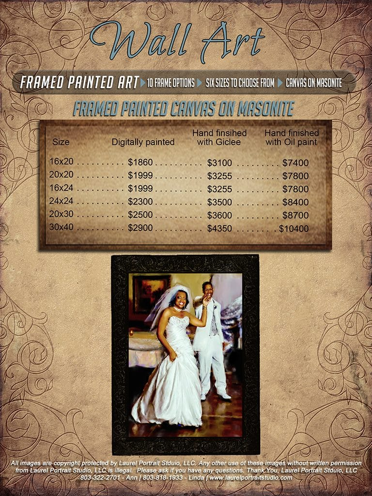 Wedding Pricing Guide - Ann Norment