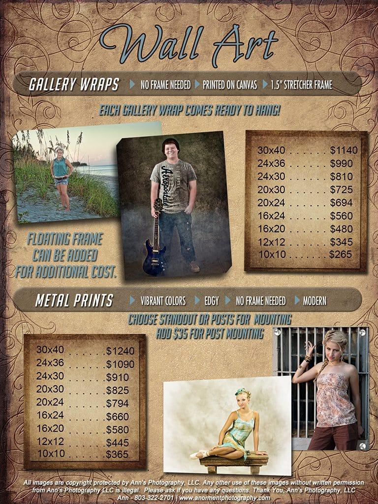 Senior Pricing Guide