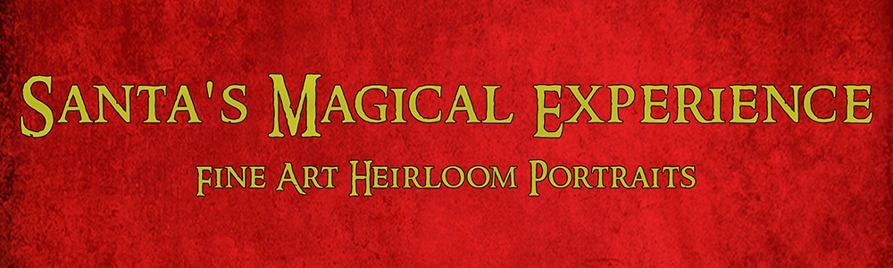 Santa's Magical Experience portrait session reservation fee